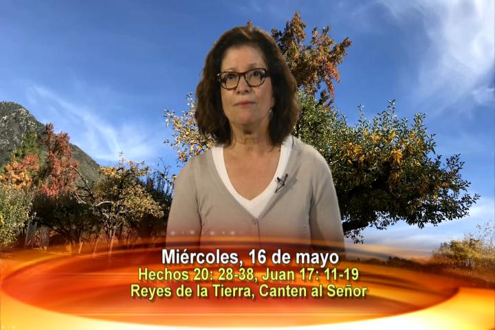 Artwork for Dios te Habla con Maria Eva Hernandez;  Tema el hoy: Reyes de la tierra, canten al Señor. Aleluya.