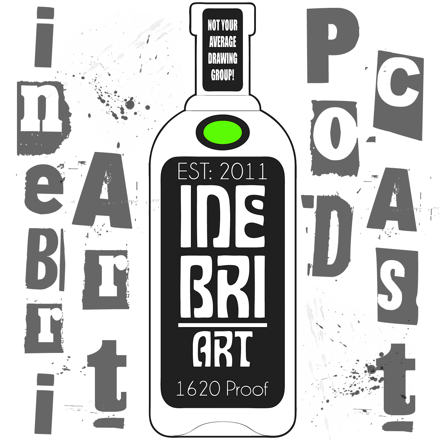 Inebriart podcast show art