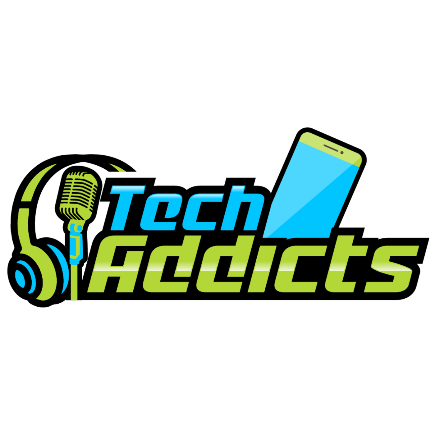 The Tech Addicts Podcast show art