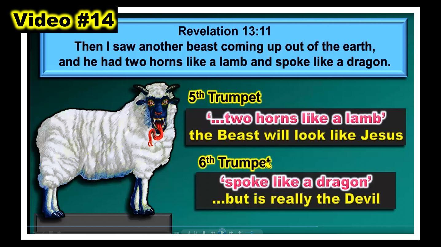 #14 - WOE - WOE - WOE... The DEVIL  IMPERSONATES JESUS
