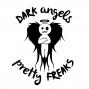 """Artwork for DAPF #246. Dark Angels & Pretty Freaks #Podcast #246 """"Elf Ball Latte"""""""