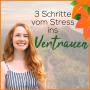 Artwork for 089   Wie du in 3 Schritten vom Stress ins Vertrauen kommst
