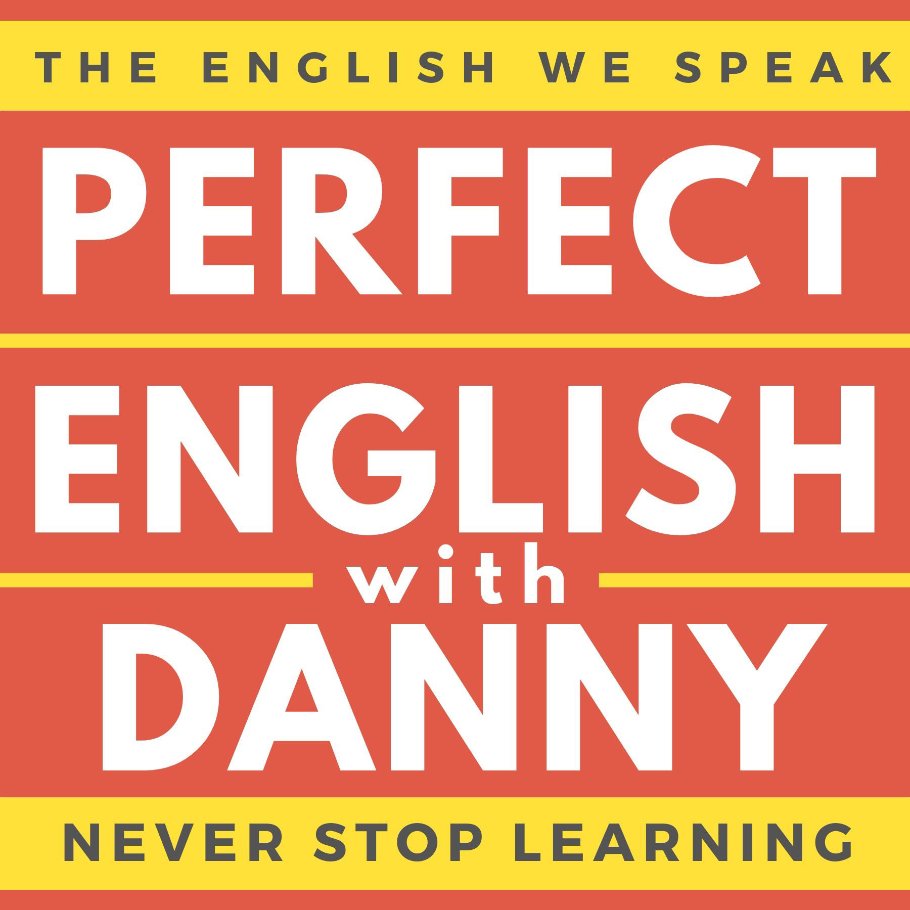 Perfect English with Danny show art