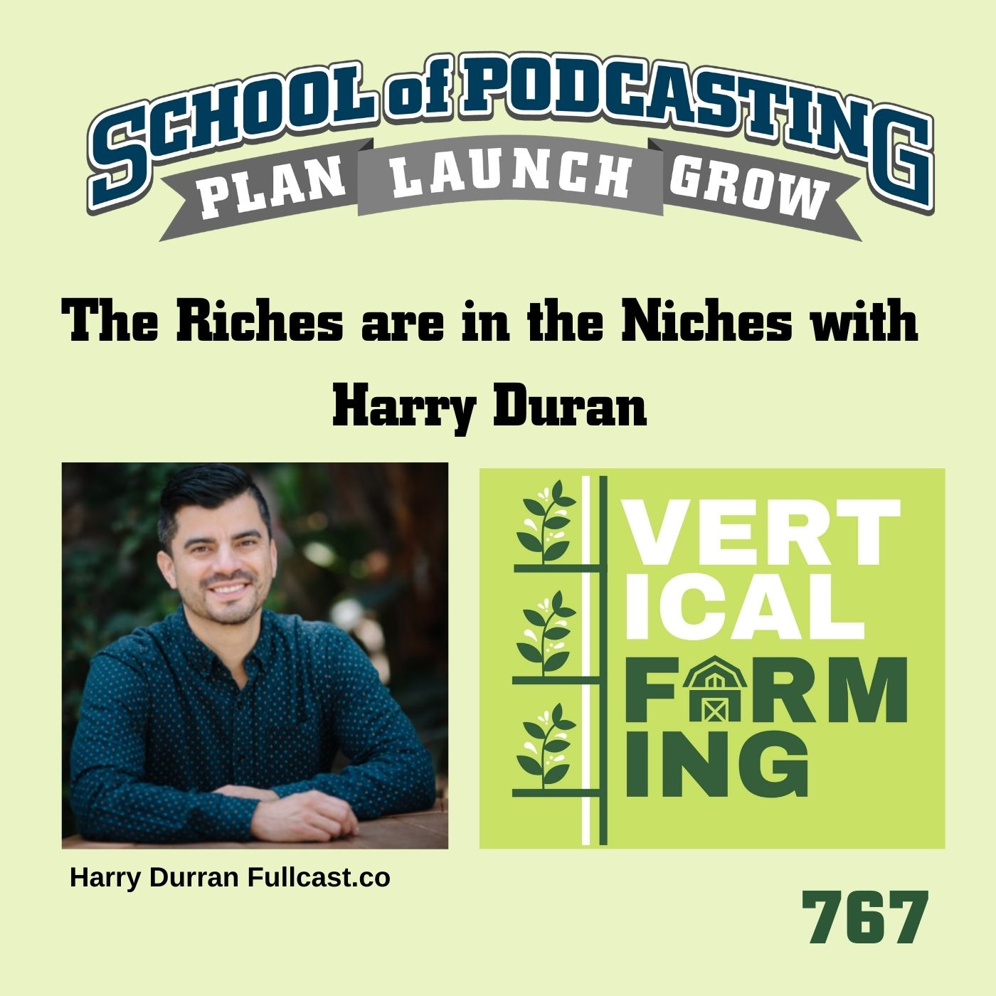 The Riches are in the Niches With Harry Duran