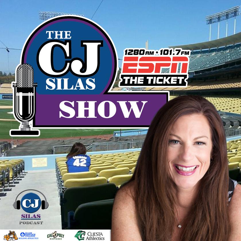 The CJ Silas Show on ESPN Radio 1280 show art