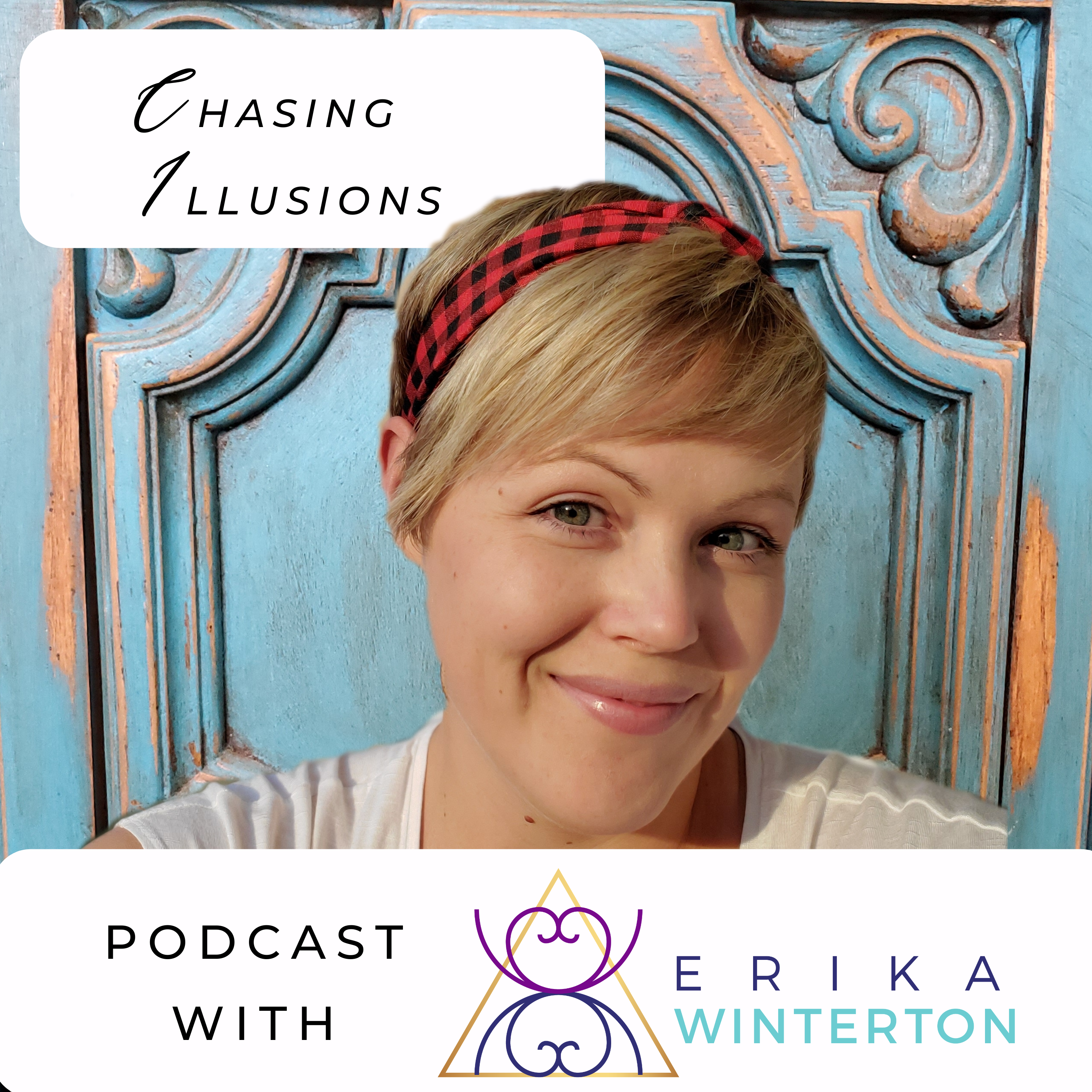 Chasing Illusions Podcast show art