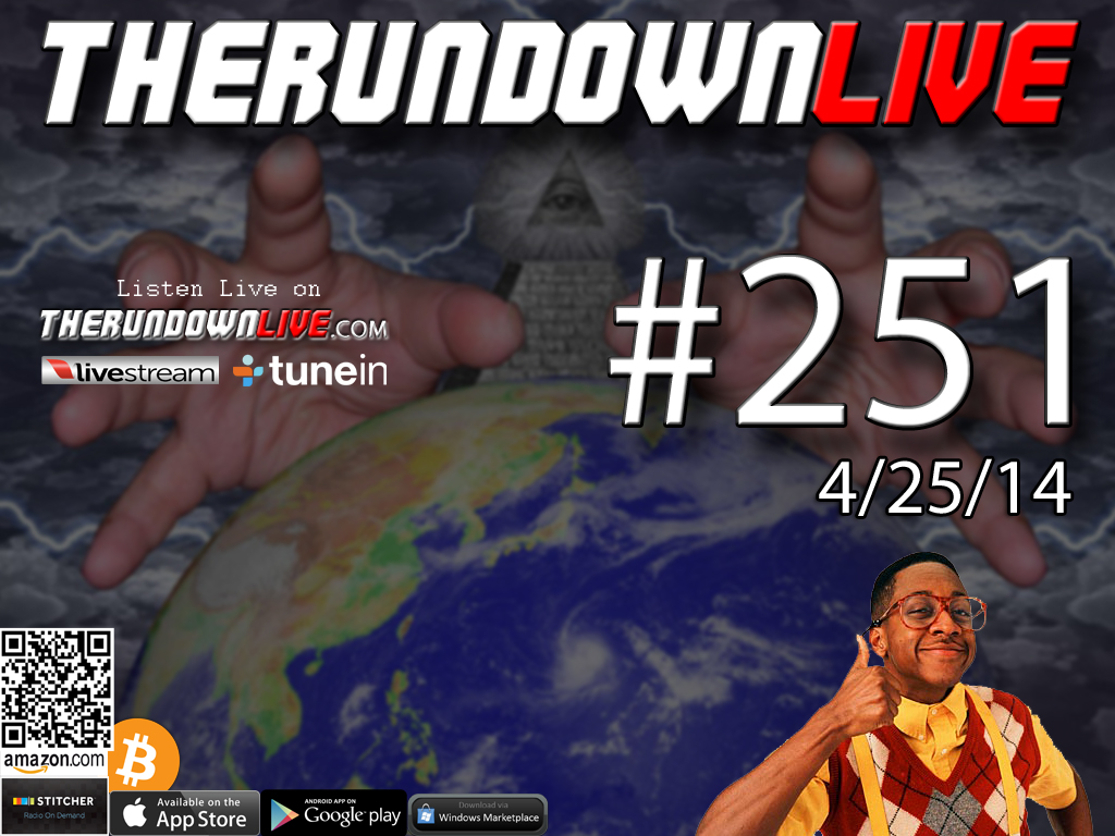 The Rundown Live #251 Open Lines (Nerf Nuke, Philosophy, Tech Issues)