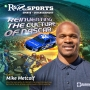 Artwork for Reinventing the Culture of NASCAR w/Mike Metcalf | R&R on Sports | KUDZUKIAN
