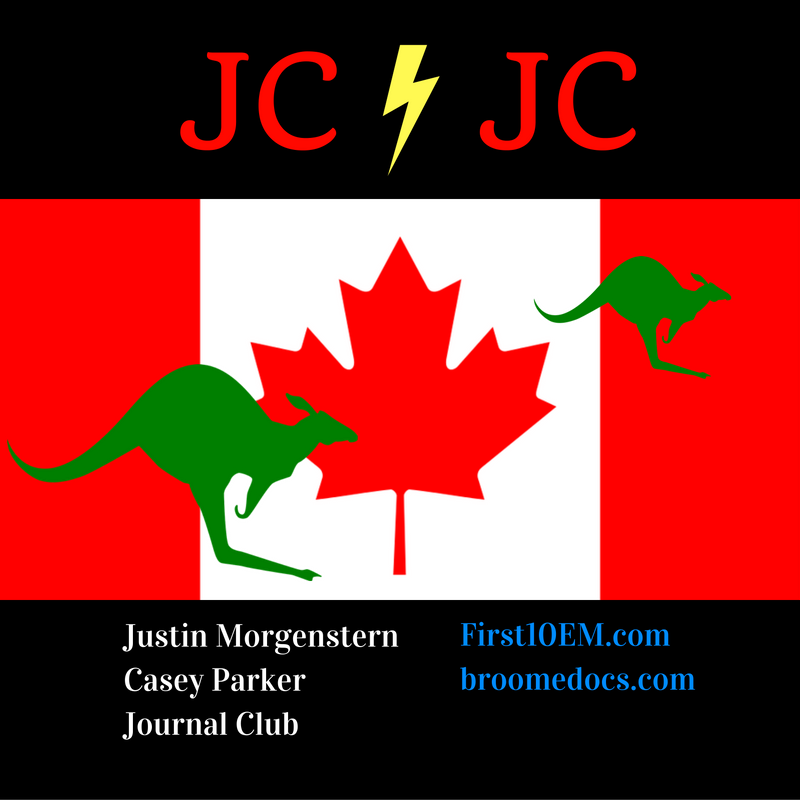 August 2016: First10EM / Broomedocs Journal Club
