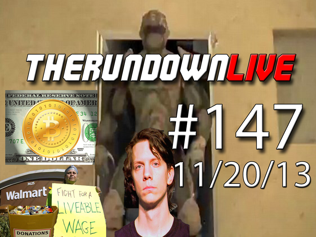 The Rundown Live #147 Iron Man Suit, Bitcoin, Jeremy Hammond Sentencing, WalMart
