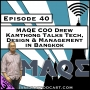 Artwork for MAQE COO Drew Kamthong Talks Tech, Design & Management in Bangkok [Season 3, Episode 40]