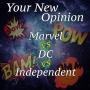 Artwork for E21- Marvel Vs DC Vs Independent Comics.