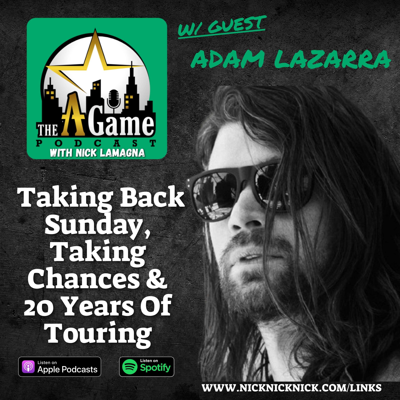 Adam Lazarra Talks Taking Back Sunday, Taking Chances & 20 Years Of Touring show art