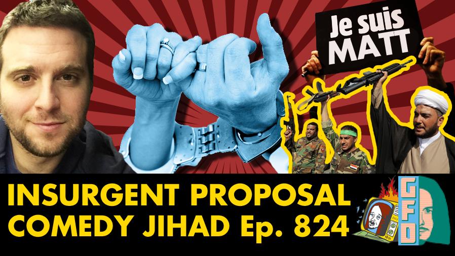 Comedy Jihad w/ Tom Staples - Ep. 824 (CHARLIE HEBDO, TERRORISM, MARRIAGE)