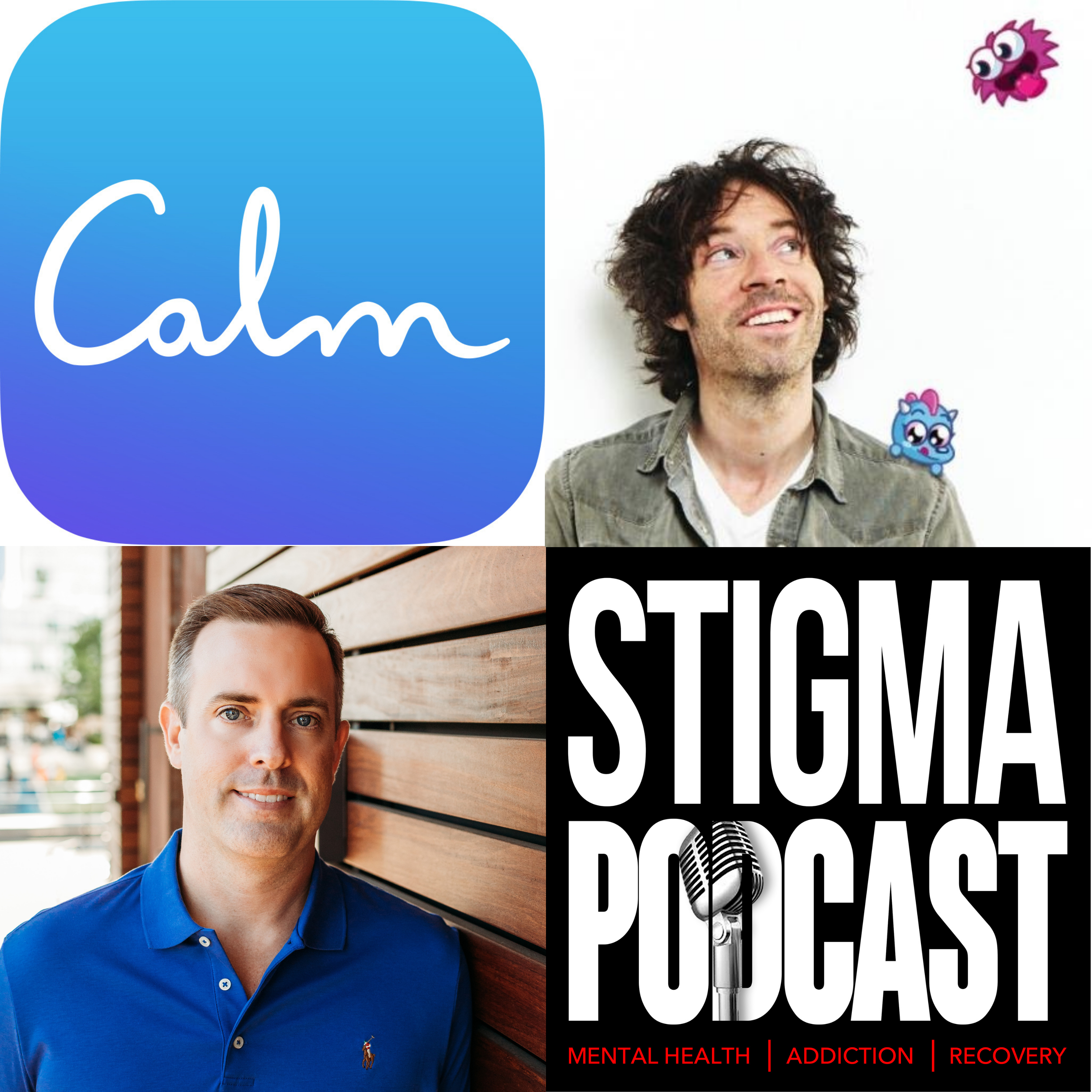 Stigma Podcast - Mental Health - #71 - Calm Co-Founder, Michael Acton Smith a Pioneer in Mental Health and Wellness