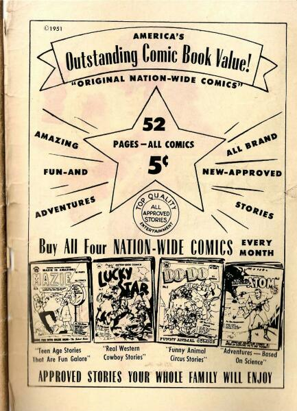 Nation-Wide comics from 1951