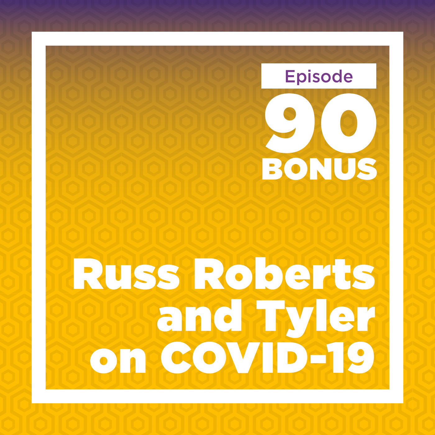 Russ Roberts and Tyler on COVID-19