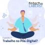 Artwork for Fintech Labcast 002 - Trabalho no Pós-Digital?