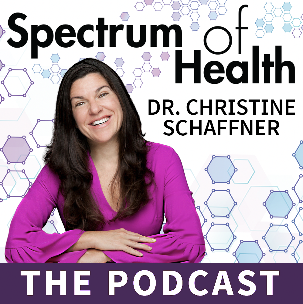 The Spectrum of Health with Dr. Christine Schaffner show art