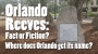 Artwork for Orlando Reeves Fact or Fiction?
