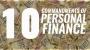 Artwork for Ten Commandments of Personal Finance