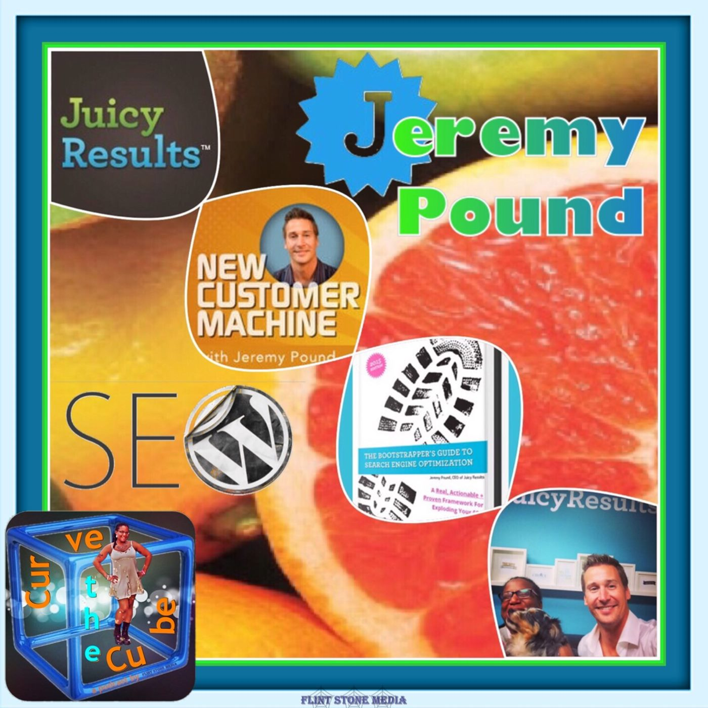Marketing guru, author, and CEO of Juicy Results, Jeremy Pound, on the Curve the Cube Podcast!!!