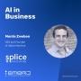 Artwork for The Development of AI Competence in the Enterprise - with Monte Zweben of Splice Machine