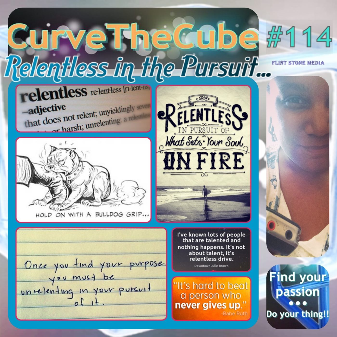 Be Relentless in the Pursuit of Your Dreams with the Curve the Cube Podcast