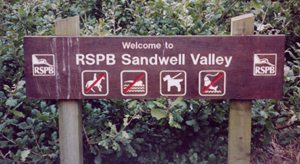January 2006 - RSPB Sandwell Valley Reserve