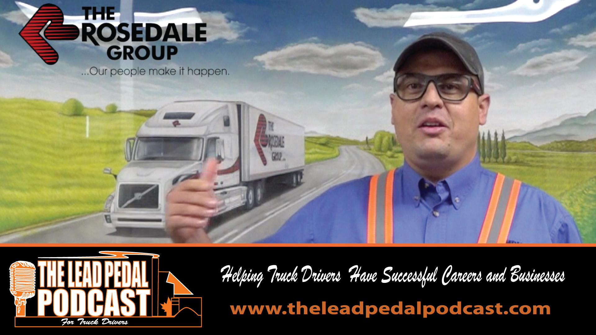Professionalism on the Road with Rosedale Transport