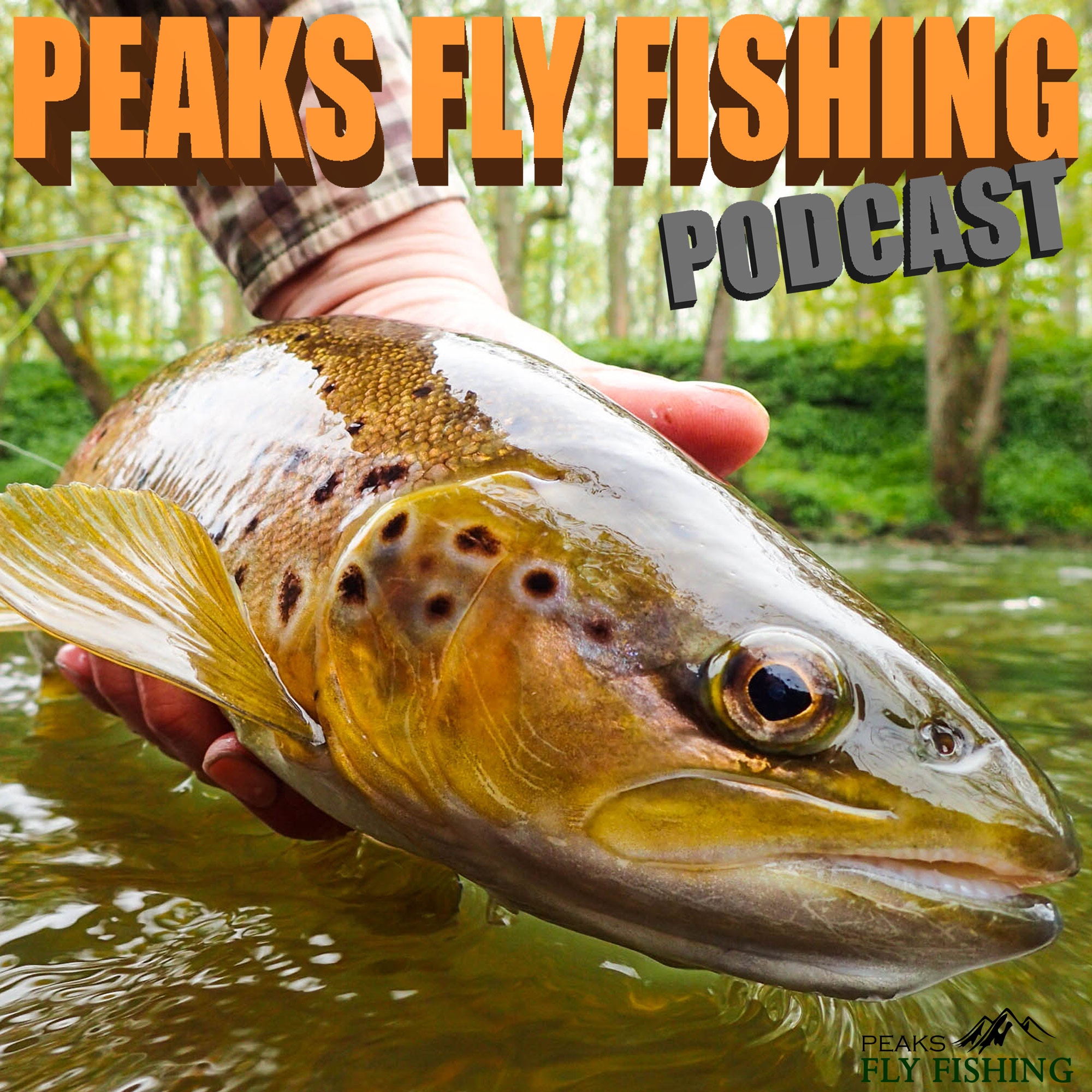 Peaks Fly Fishing Podcast show art
