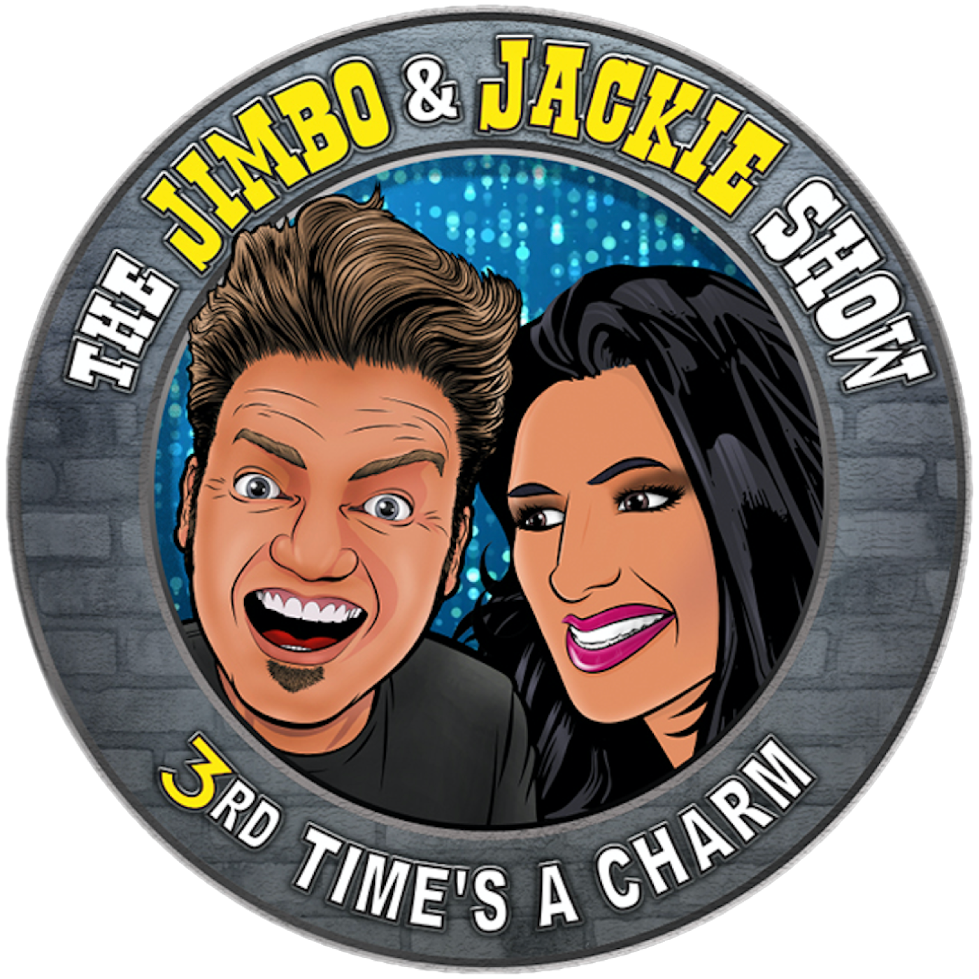 The Jimbo and Jackie Show show art