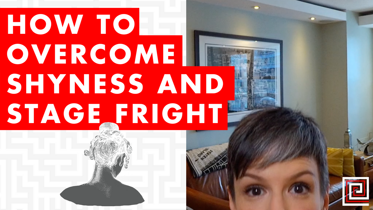 Artwork for How to Overcome Shyness and Stage Fright - EP082
