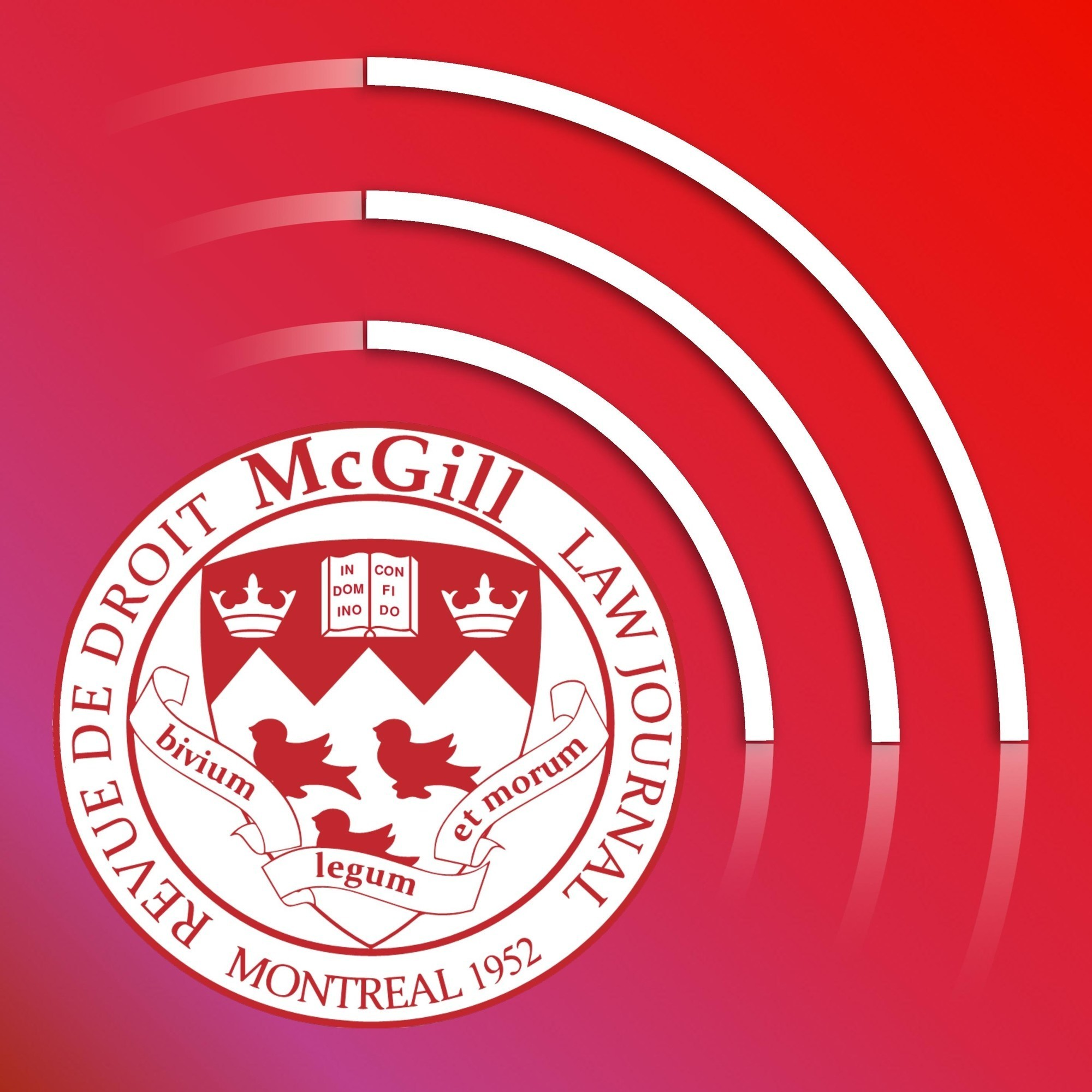 The McGill Law Journal Podcast show art