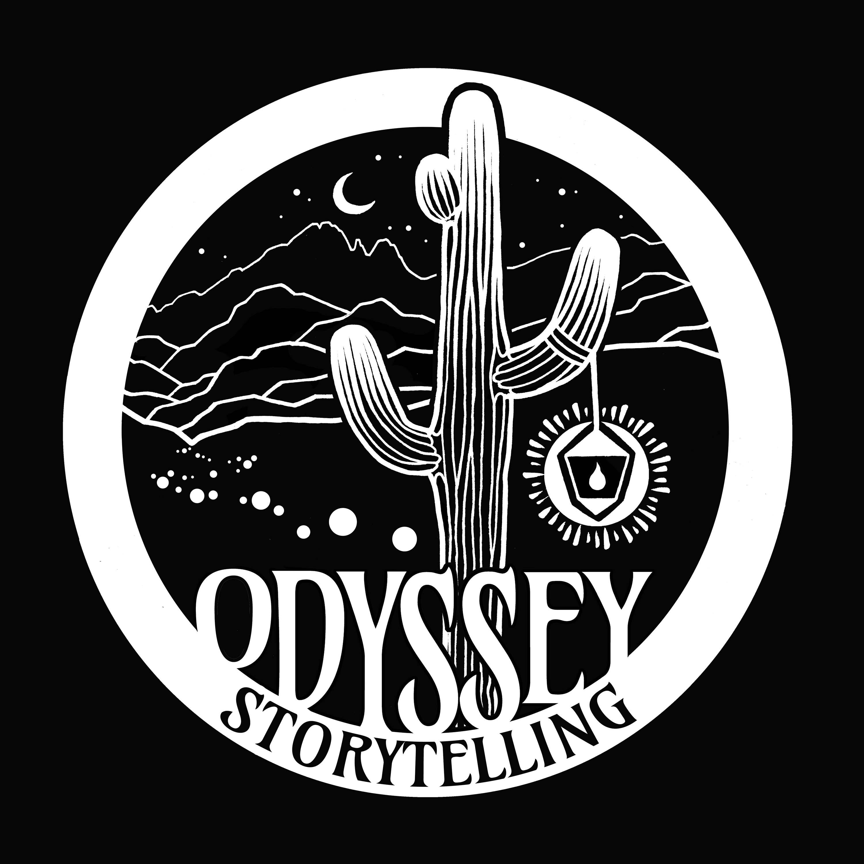 The Odyssey Storytelling Podcast show art