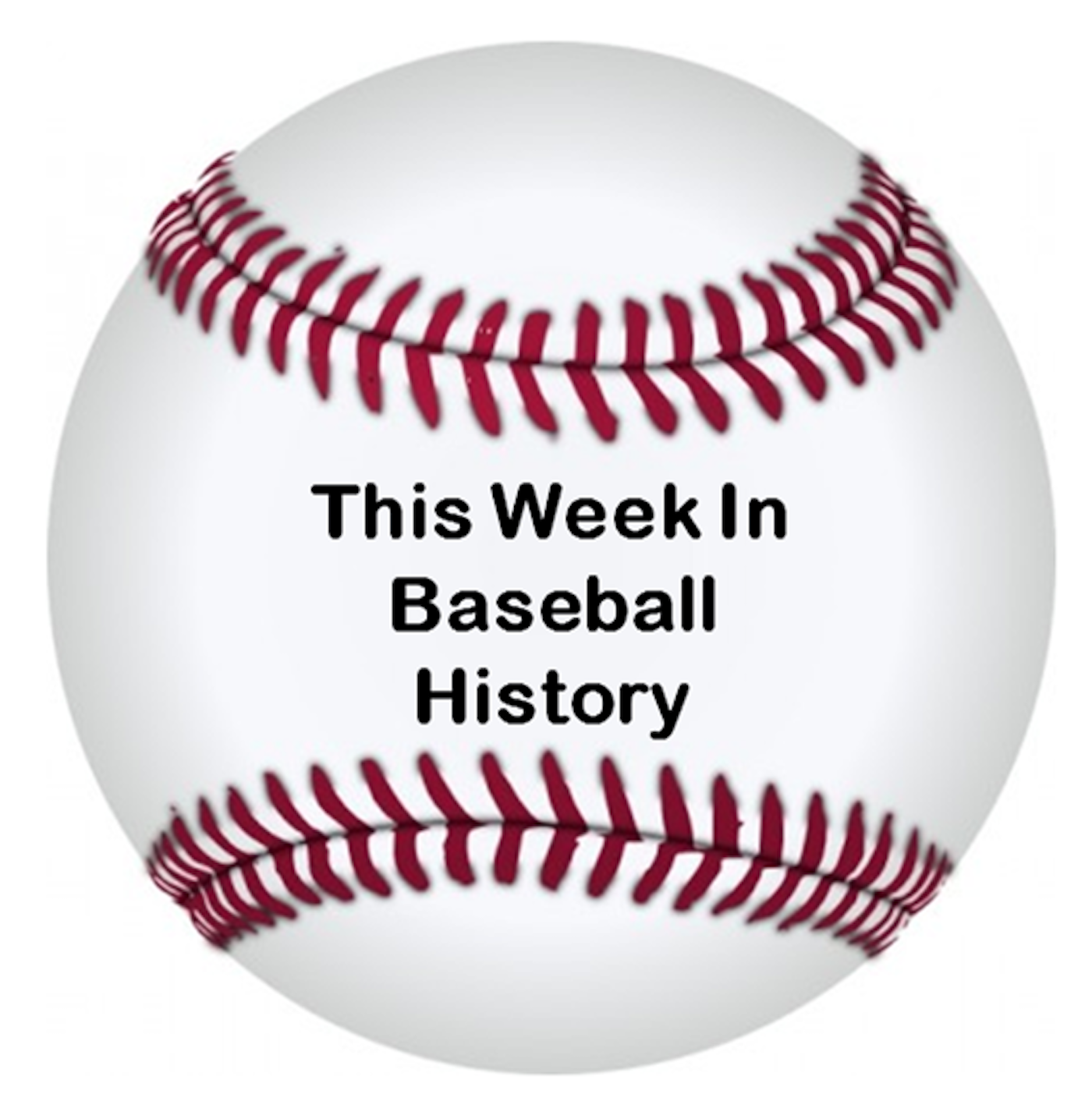 This Week In Baseball History show art
