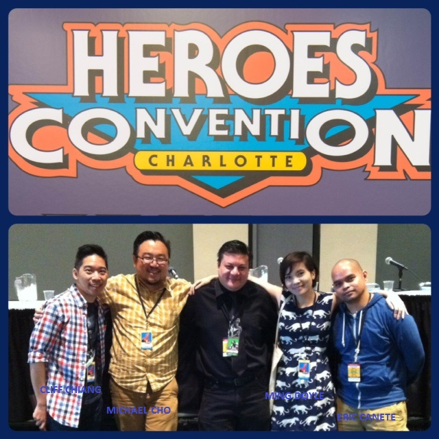 Episode 549 - Heroes Con: Shop Talk Panel w/ Eric Canete/Cliff Chiang/Michael! Cho/Ming Doyle