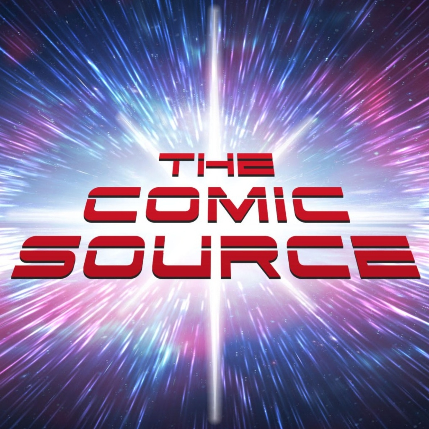 The Comic Source Podcast show art