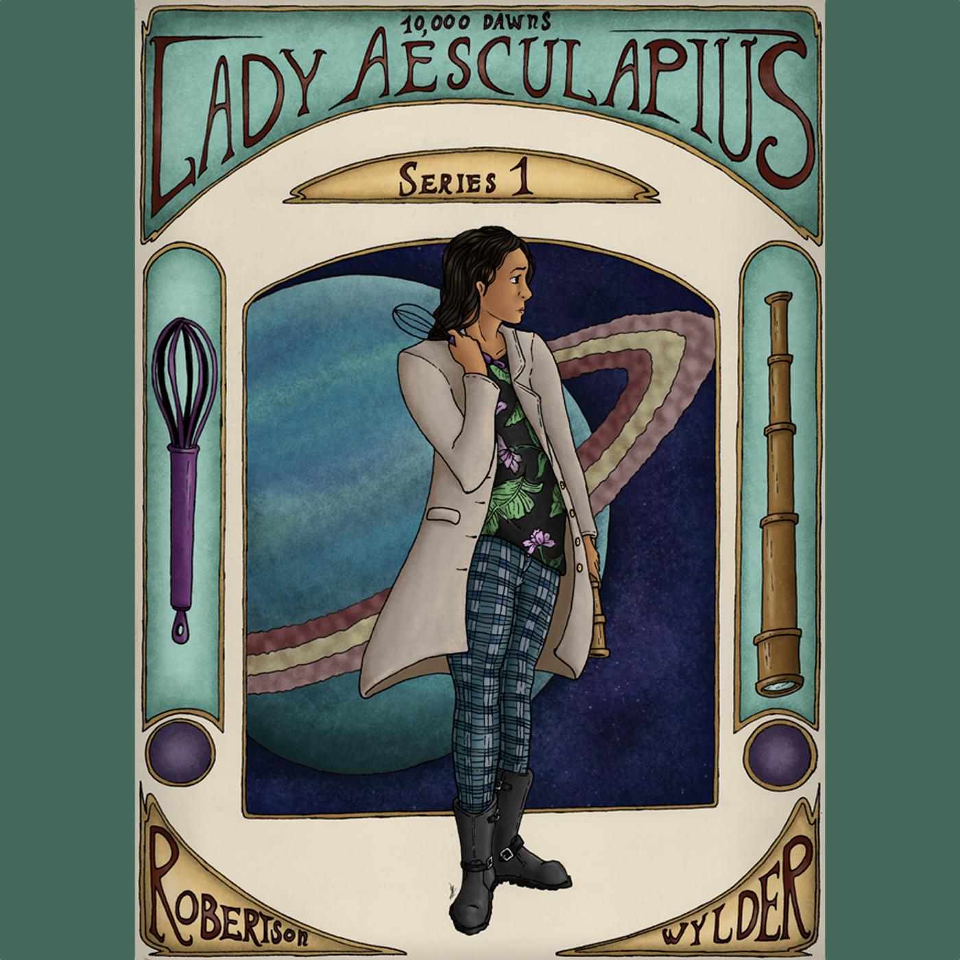 Lady Aesculapius show art