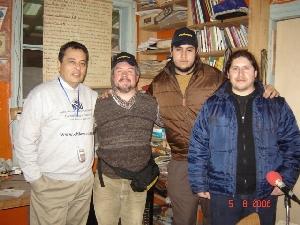 217 ChilePodcast - Visitas en el estudio.
