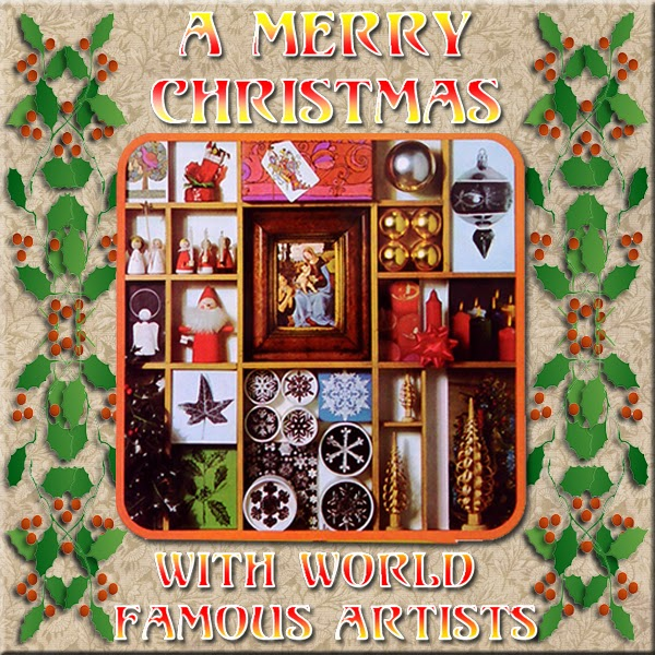 Artwork for HYPNOGORIA 06 – A Merry Christmas with World-Famous Artists