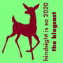 Artwork for GWP presents:  [hindsight is so 2020] - the blogcast