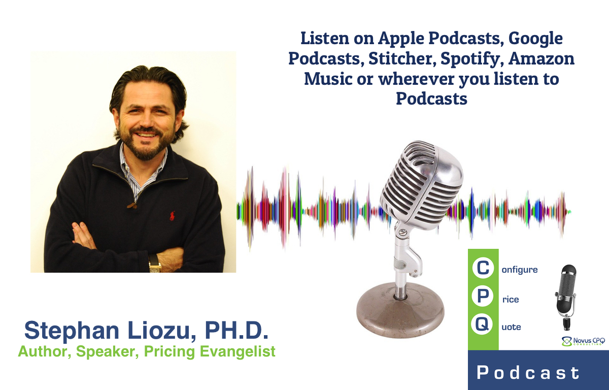 Interview with Stephan Liozu PH.D., Author, Speaker & Value Pricing Expert