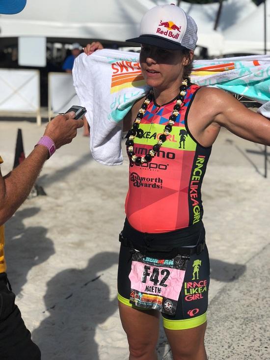 Angela Naeth post race
