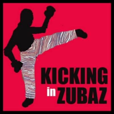 Kicking in Zubaz show image