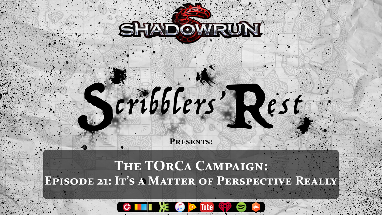 Scribblers' Rest: Scribblers' Rest - Shadowrun - The TOrCa