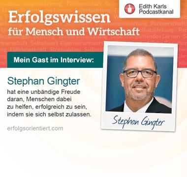 Im Gespräch mit Stephan Gingter