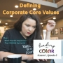 Artwork for Defining Corporate Core Values (Leading In Color - S1, Ep8)