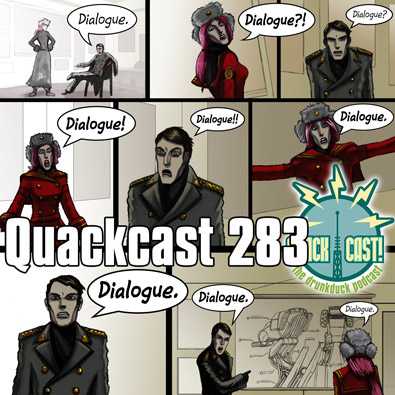 QUACKCAST 283 - Writing Dialogue pt1
