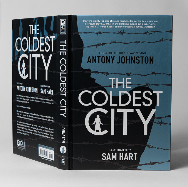 DECOMPRESSED 015: ANTONY JOHNSTON ON THE COLDEST CITY